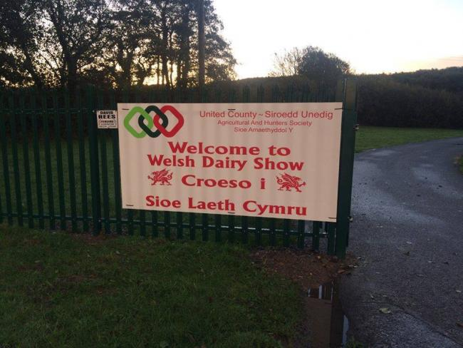 Familiar faces were missing from the Welsh Dairy Show