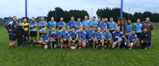 The Pembrokeshire Vikings last Sunday.