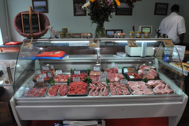 The current crisis has seen people returning to high street butchers' shops PICTURE: Debbie James