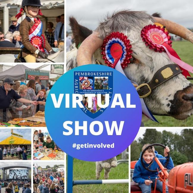 Pembrokeshire County Show goes online on Facebook