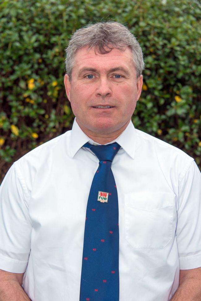 FUW Carmarthen executive officer David Waters