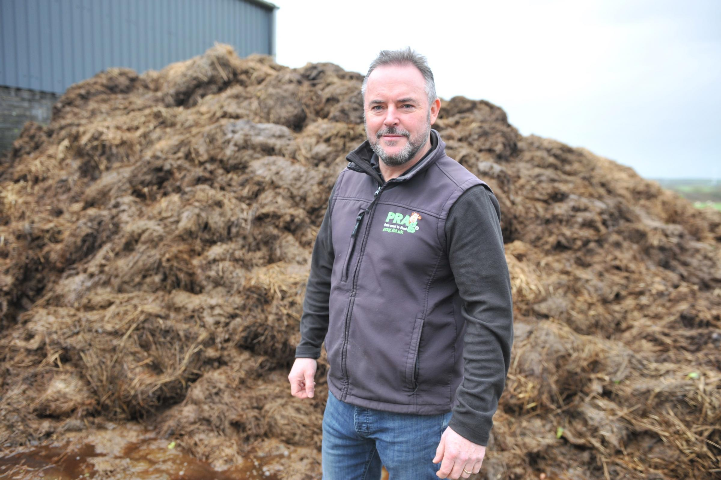 Phil Rees advises analysing slurry and farmyard manure in January or early February PICTURE: Debbie James