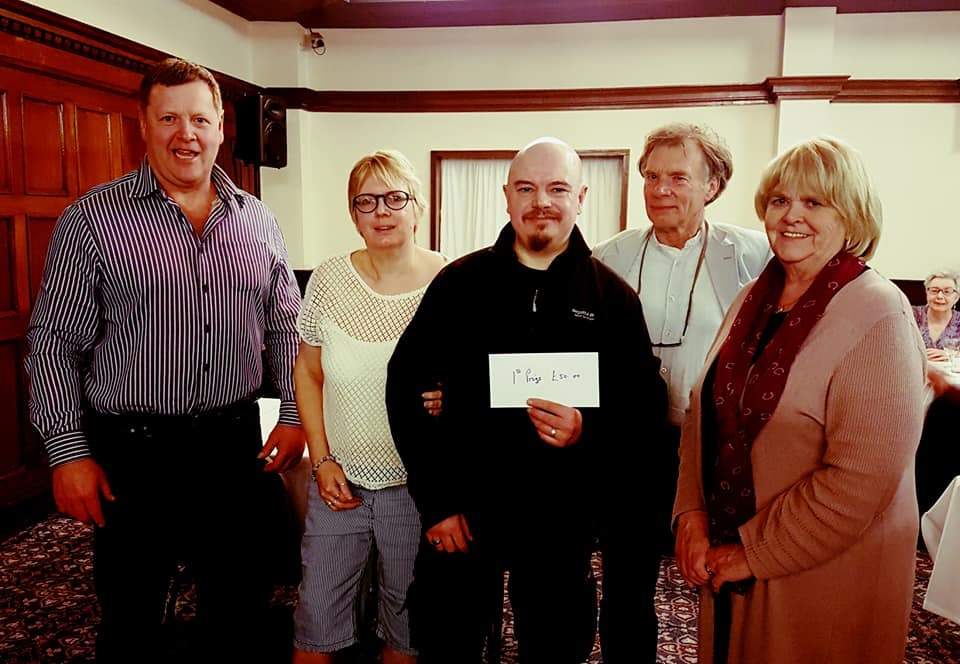 And the winners are ... quiz night at the Fishguard Bay Hotel