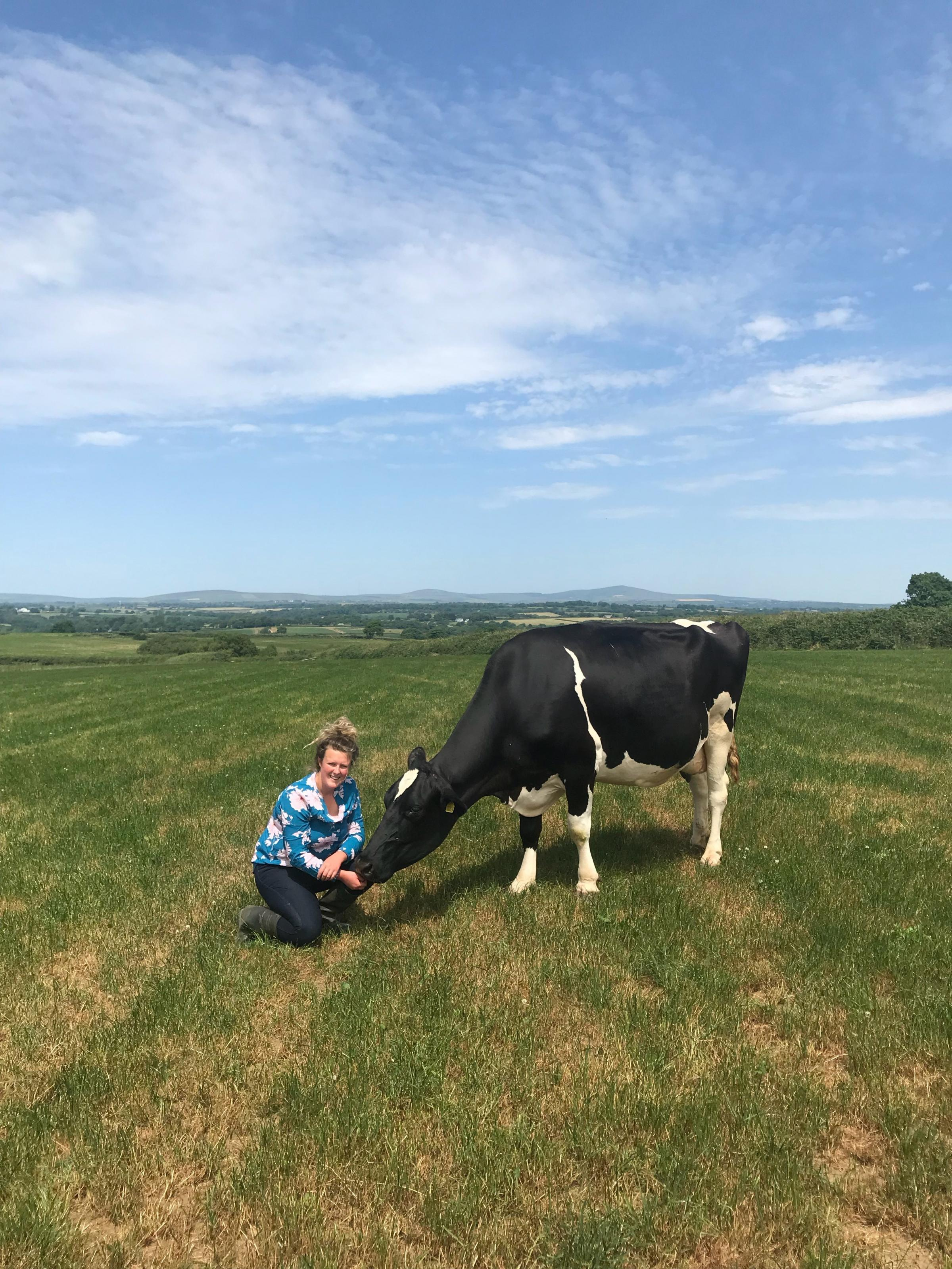 Hannah Lawrence will host a farm open day on August 4