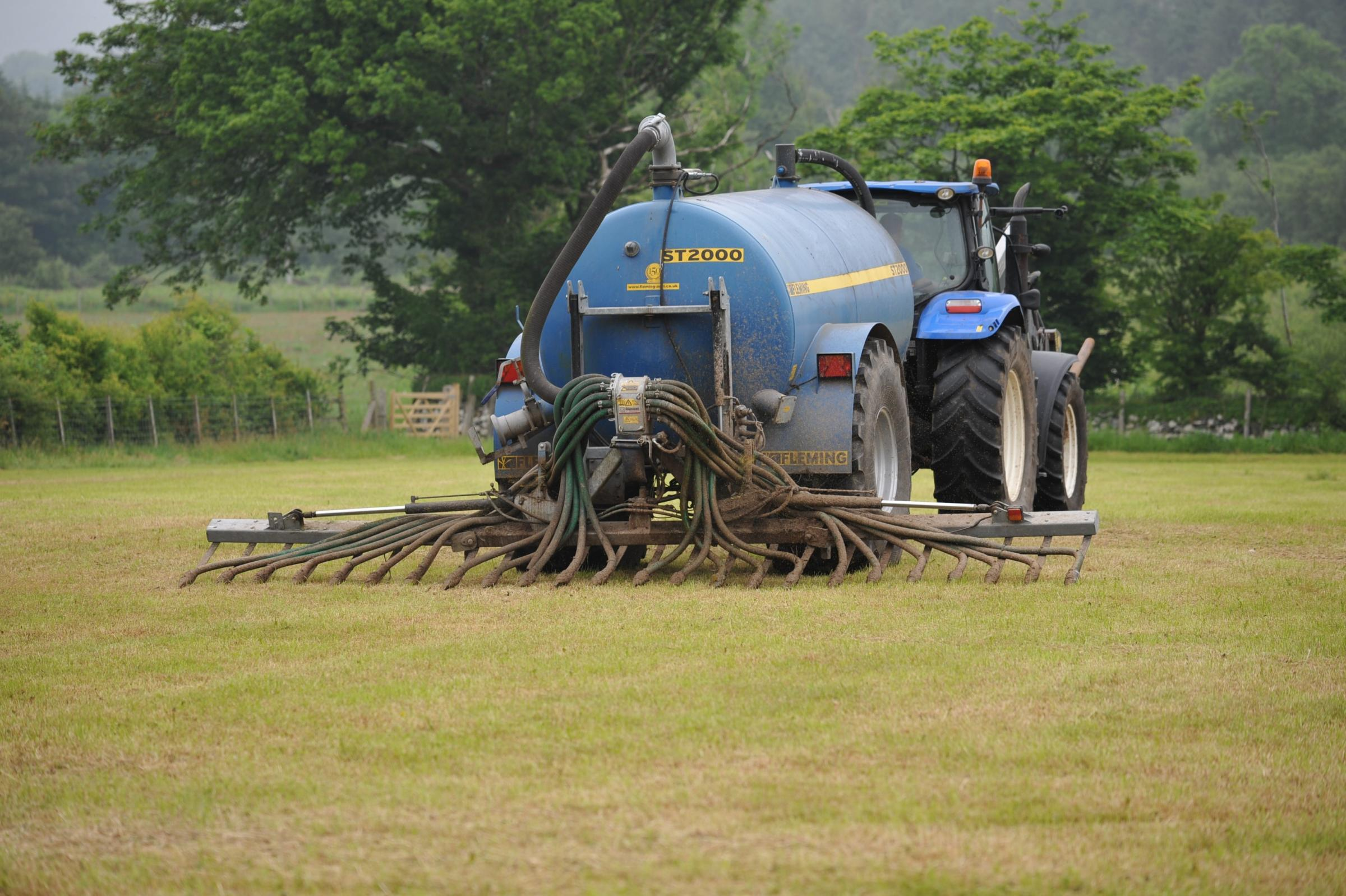 Eligible items include slurry injectors PICTURE: Debbie James