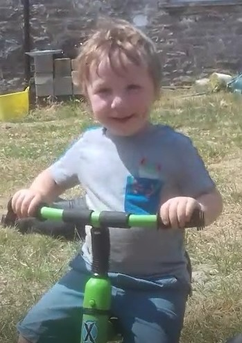 Evan Williams died after an incident on a farm (picture courtesy of family)