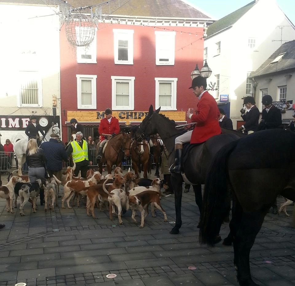 Proposals to relocate the Pembrokeshire Hunt's kennels near Treffgarne will once again come before planners. PICTURE: Western Telegraph